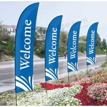 Outdoor Flags For Business Feather Flag Custom