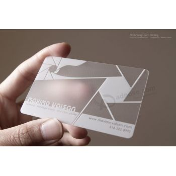 Wholesale custom frosted transparent business cards pvc plastic card wholesale custom frosted transparent business cards pvc plastic card colourmoves