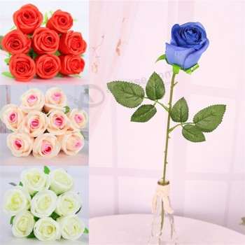 10pcslot beige fresh rose artificial silk flowers real touch rose 10pcslot beige fresh rose artificial silk flowers real touch rose flowers home decorations for w mightylinksfo